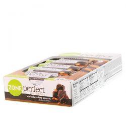 ZonePerfect, Nutrition Bars, Dark Chocolate Almond, 12 Bars, 1.58 oz (45 g) Each Zdrowie i Uroda
