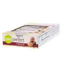ZonePerfect, Nutrition Bars, Cinnamon Roll, 12 Bars, 1.76 oz (50 g) Each Zdrowie i Uroda