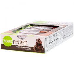 ZonePerfect, Nutrition Bars, Double Dark Chocolate, 12 Bars, 1.58 oz (45 g) Each Zdrowie i Uroda