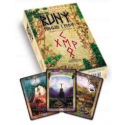 Runy magia i moc - książka + karty - Robert Lichodziejski - Książka