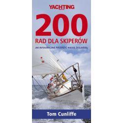 200 rad dla skiperów - Tom Cunlife - Książka Pozostałe