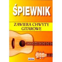 Śpiewnik - zawiera chwyty gitarowe - Bartłomiej Łuczak - Książka