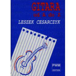 Gitara od A do Z - Leszek Cesarczyk - Książka