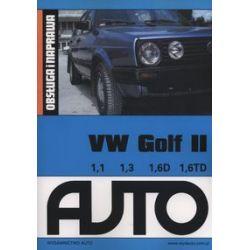 VW Golf II Obsługa i naprawa - Książka