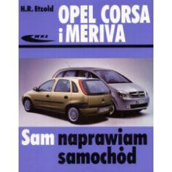 Opel Corsa i Meriva - Etzold Hans-Rudiger - Książka