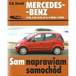 Mercedes - Benz A140. A160, A210, A160CDI, A170CDI - Etzold H.R. - Książka Pozostałe