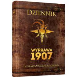 Dziennik. Wyprawa 1907. Interaktywna gra książkowa - praca zbiorowa - Książka