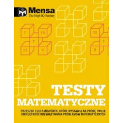 Mensa The High IQ Society. Testy matematyczne - Tim Dedopulos - Książka