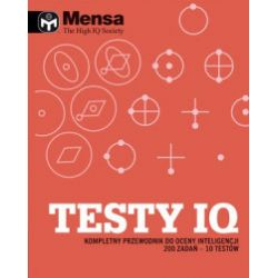 Mensa. The High IQ Society. Testy IQ - Richard Cater - Książka