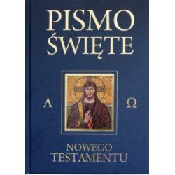 Pismo Święte Nowego Testamentu. Granat - praca zbiorowa - Książka
