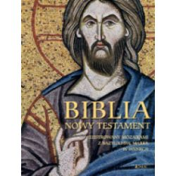 Biblia Nowy Testament. Ilustrowany mozaikami z bazyliki św. Marka w Wenecji - praca zbiorowa - Książka Pozostałe