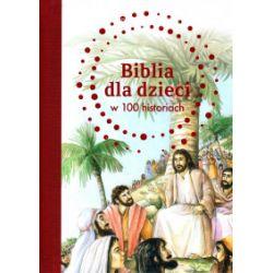 Biblia dla dzieci w 100 historiach - B. A. Jones - Książka Pozostałe