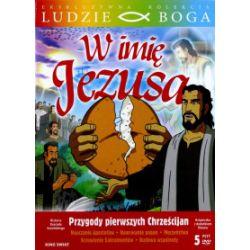 Kolekcja Ludzie Boga. W imię Jezusa, 5 DVD + booklet - praca zbiorowa - Książka