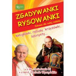 Zgadywanki Rysowanki. Św. Jan Paweł II i kardynał Stefan Wyszyński - Jarosław Zych - Książka Zagraniczne