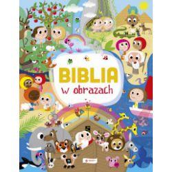 Biblia w obrazach - Laureen Bouyssou - Książka Zagraniczne