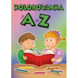 Kolorowanka od A do Z - praca zbiorowa - Książka