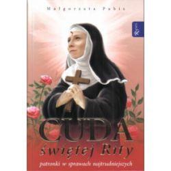 Cuda Świętej Rity - Małgorzata Pabis - Książka Pozostałe