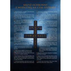 Obraz z krzyżem i modlitwą - Książka
