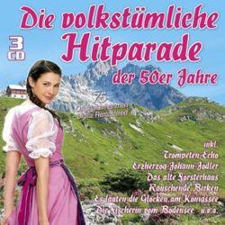 Die Volkstümliche Hitparade Der 50er Jahre Płyty kompaktowe