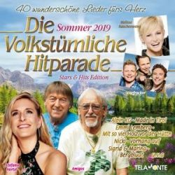 Die volkstümliche Hitparade Sommer 2019 Płyty kompaktowe