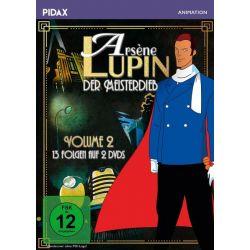 Arsène Lupin, der Meisterdieb - Vol. 2 / Weitere 13 Folgen der Erfolgsserie nach der Romanvorlage von Maurice Leblanc (Pidax Animation) [2 DVDs] Pozostałe