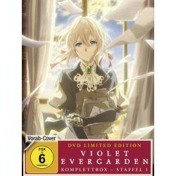 Violet Evergarden - Staffel 1 - Komplettbox - Limited Special Edition [4 DVDs] Pozostałe