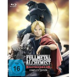 Fullmetal Alchemist: Brotherhood - Die komplette Serie (Alle Folgen + OVA) [9 BRs] Pozostałe