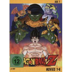 Dragonball Z - Movies 1-4 [4 DVDs] Pozostałe