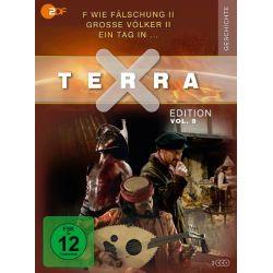 Terra X - Edition Vol. 9 - F wie Fälschung II / Große Völker II / Ein Tag in … [3 Discs] Pozostałe