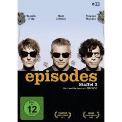 Episodes - Staffel 3 [2 DVDs] Zagraniczne