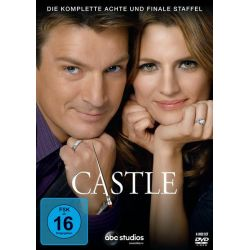 Castle - Die komplette achte und finale Staffel [6 DVDs] Filmy