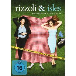 Rizzoli & Isles - Staffel 4 [4 DVDs] Filmy