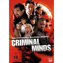 Criminal Minds - Die komplette sechste Staffel [6 DVDs] Płyty DVD