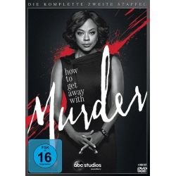 How to Get Away with Murder - Die komplette zweite Staffel [4 DVDs] Seriale