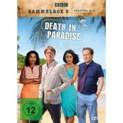 Death in Paradise - Sammelbox 2 - Staffel 4-6 [12 DVDs] Seriale