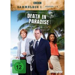Death in Paradise - Sammelbox 1 - Staffel 1-3 [12 DVDs] Seriale