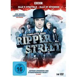 Ripper Street - Die komplette Serie - Alle 5 Staffeln - Alle 37 Episoden [14 DVDs] Płyty DVD