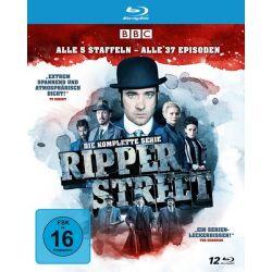 Ripper Street - Die komplette Serie - Alle 5 Staffeln - Alle 37 Episoden [10 BRs] Płyty DVD