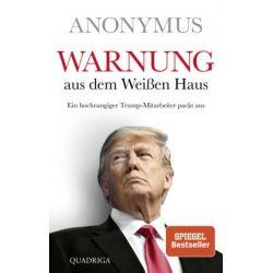 Warnung aus dem Weißen Haus Pozostałe