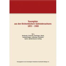Trauregister aus den Kirchenbüchern Südniedersachsens 1853 - 1900 Pozostałe