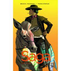 Saga. Tom 8 - Brian K. Vaughan, Fiona Staples - Książka