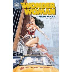 Wonder Woman. Tom 1 - Greg Rucka, Drew Johnson, J.G. Jones - Książka Zagraniczne