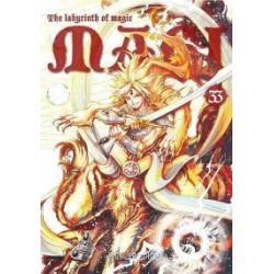 Magi. Labyrinth of Magic. Tom 33 - Shinobu Ohtaka - Książka