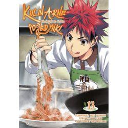 Kulinarne pojedynki. Tom 13 - Tsukuda Yuuto, Saeki Shun, Morisaki Yuki - Książka