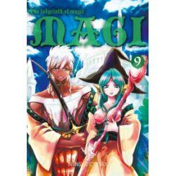 Magi. Labirynth of Magic. Tom 9 - Shinobu Ohtaka - Książka