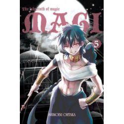 Magi. Labirynth of Magic. Tom 5 - Shinobu Ohtaka - Książka