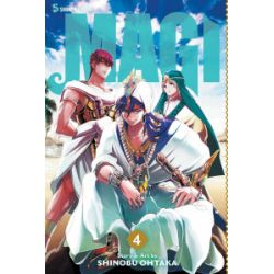 Magi. The Labyrinth of Magic. Tom 4 - Shinobu Ohtaka - Książka