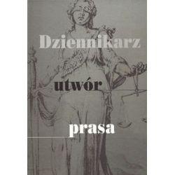 Dziennikarz, utwór, prasa - Książka