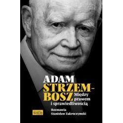 Między prawem a sprawiedliwością - Adam Strzembosz, Stanisław Zakroczymski - Książka Książki i Komiksy