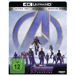 Avengers: Endgame [Steelbook] (4K Ultra HD) (+ Blu-ray 2D + Bonus-Disc)